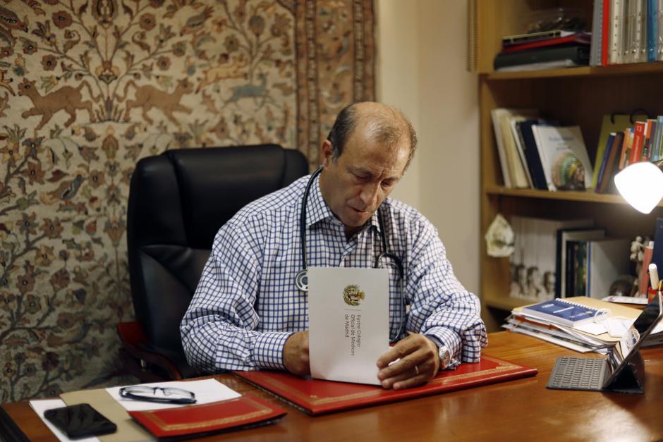 El histórico defensor de los derechos de los nacidos en su clínica de Arapiles