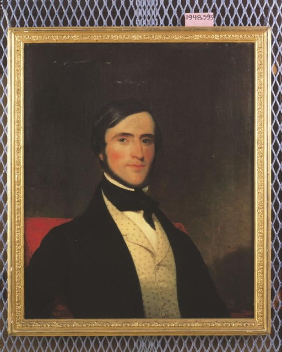 Retrato de Charles Lewis Tiffany