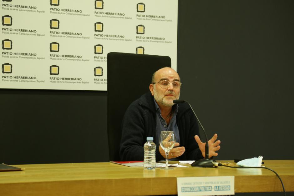 El abogado Ignacio Mella en las V Jornadas de Católicos y Vida Pública en Valladolid