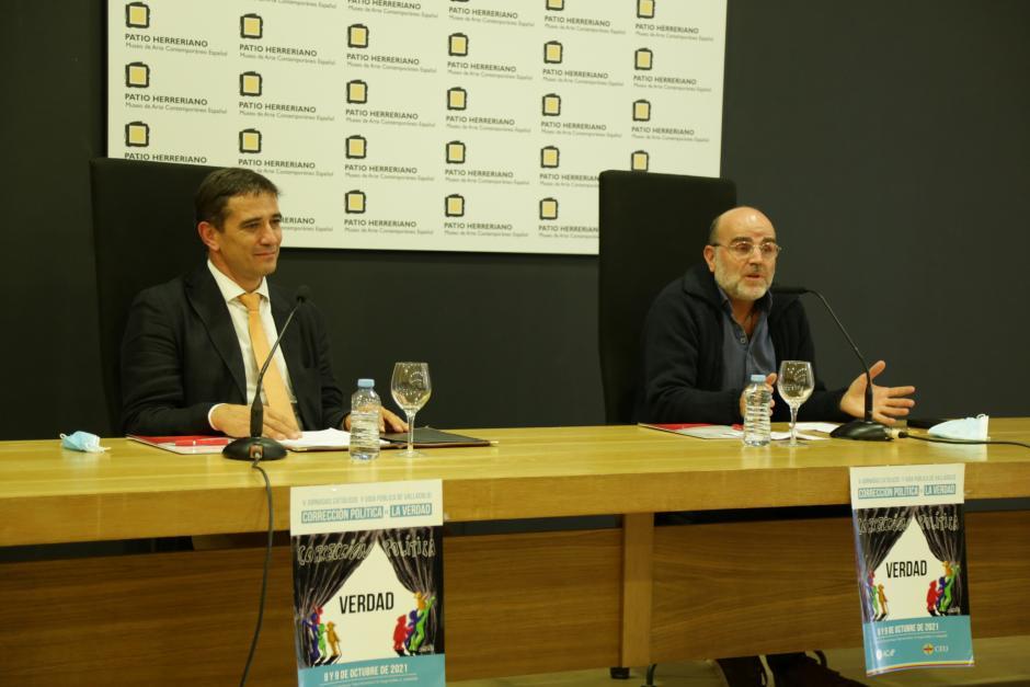 Sánchez Mella durante su intervención en las V Jornadas de Católicos y Vida Pública de Valladolid