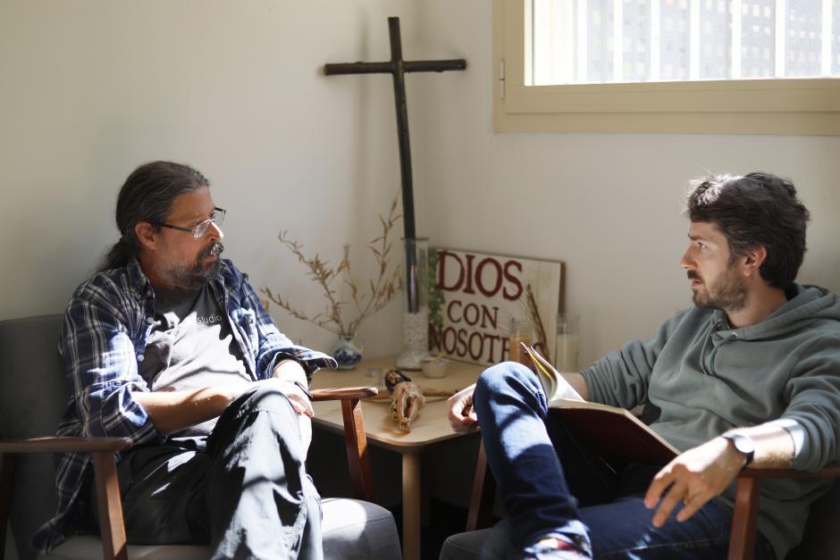 Conversando con el párroco de la Cañada, Agustín Rodríguez