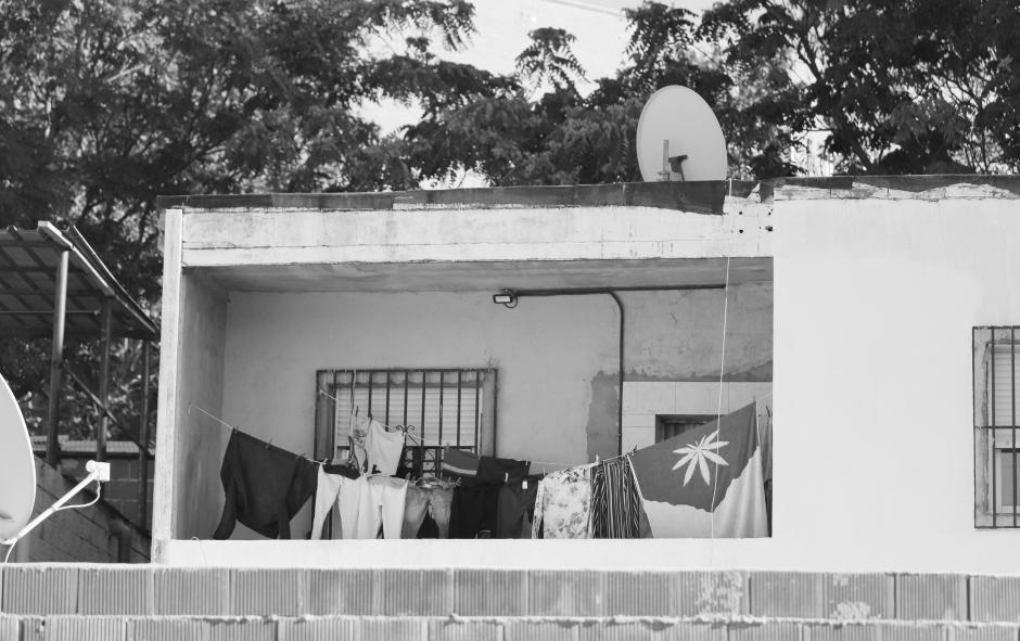 Imagen de una de las viviendas de la Cañada Real
