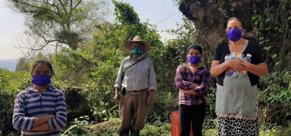 Vecinos de los asentamientos de Tegucigalpa