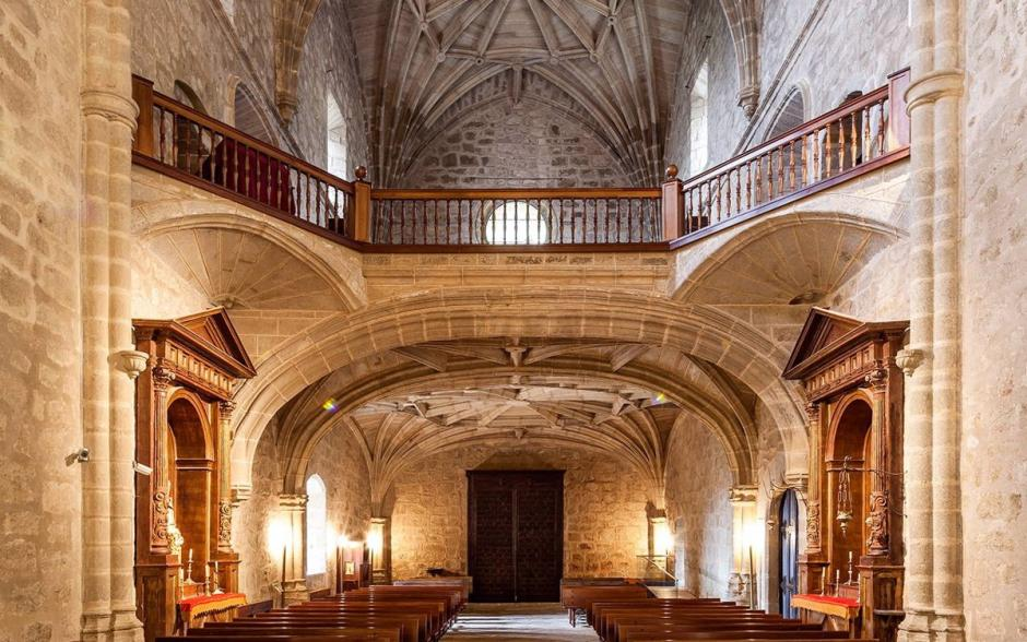 Coro de la Iglesia del Real Monasterio de Yuste